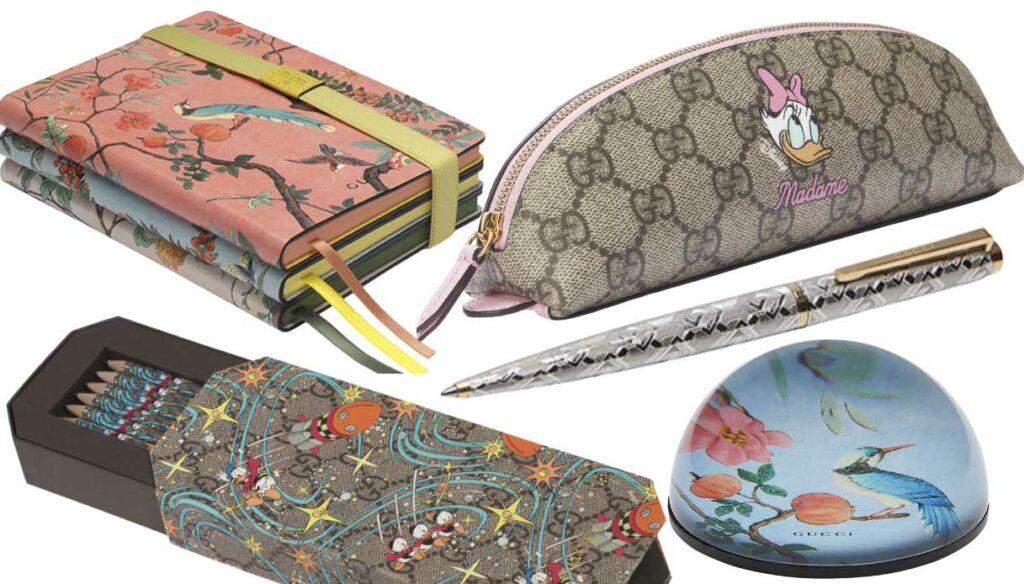 Gucci Cartoleria: the Lifstyle Gucci collection
