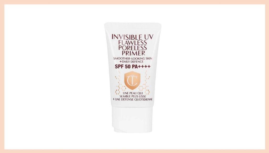 Facial sunscreen face primer