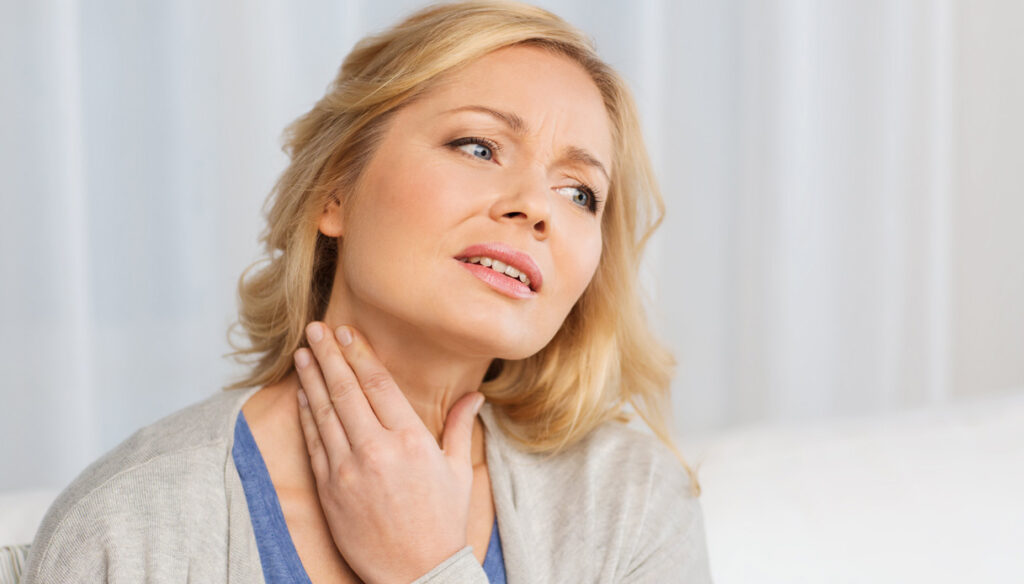 Thyroid, because goiter is formed in case of iodine deficiency