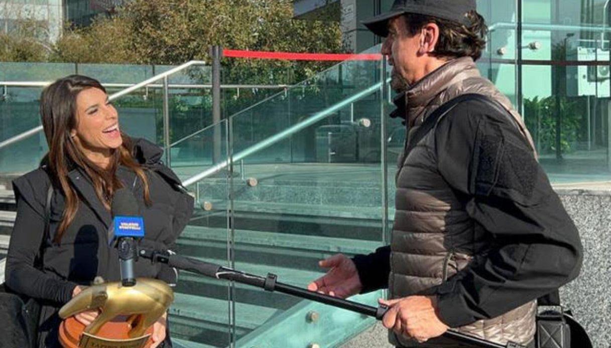 Elisabetta Canalis golden tapir