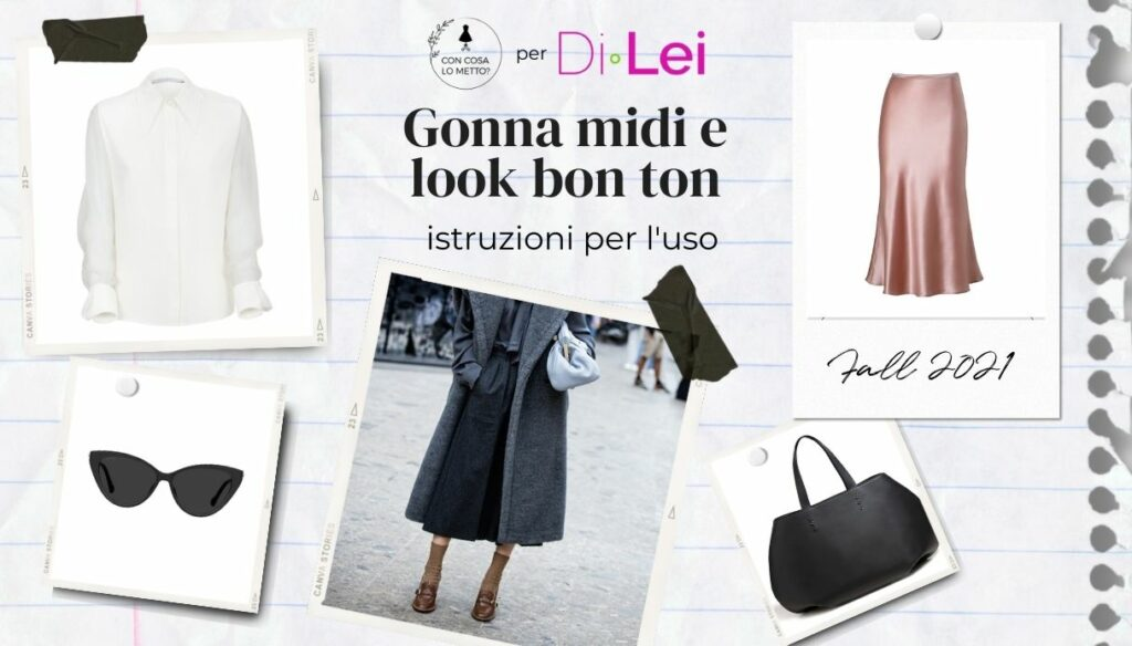 Midi skirt: here's how to wear it in autumn for a bon ton look!