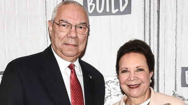 Colin e Alma Powell
