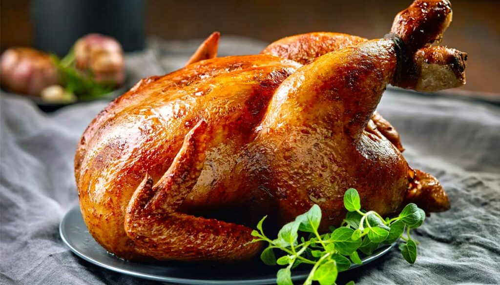 The nutritional properties of chicken: lots of proteins and few fats